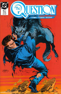Cover Thumbnail for The Question (DC, 1987 series) #7