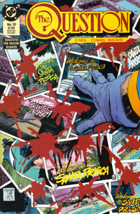 Cover for The Question (DC, 1987 series) #10