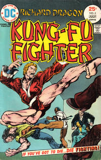Cover Thumbnail for Richard Dragon, Kung-Fu Fighter (DC, 1975 series) #2