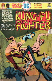 Cover Thumbnail for Richard Dragon, Kung-Fu Fighter (DC, 1975 series) #3