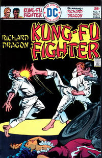 Cover Thumbnail for Richard Dragon, Kung-Fu Fighter (DC, 1975 series) #4
