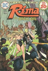 Cover Thumbnail for Rima, the Jungle Girl (DC, 1974 series) #3