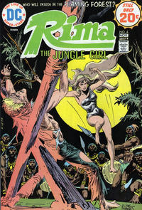 Cover Thumbnail for Rima, the Jungle Girl (DC, 1974 series) #4