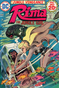 Cover for Rima, the Jungle Girl (DC, 1974 series) #5