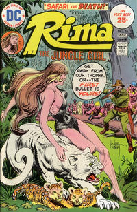 Cover Thumbnail for Rima, the Jungle Girl (DC, 1974 series) #6