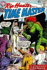 Cover Thumbnail for Rip Hunter ... Time Master (DC, 1961 series) #10