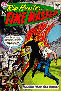 Cover Thumbnail for Rip Hunter ... Time Master (DC, 1961 series) #12