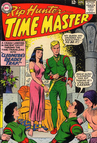 Cover Thumbnail for Rip Hunter ... Time Master (DC, 1961 series) #19
