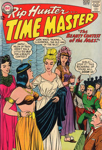 Cover Thumbnail for Rip Hunter ... Time Master (DC, 1961 series) #21