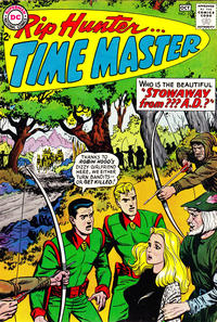 Cover Thumbnail for Rip Hunter... Time Master (DC, 1961 series) #22
