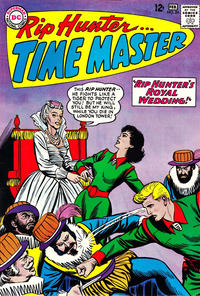 Cover Thumbnail for Rip Hunter... Time Master (DC, 1961 series) #24