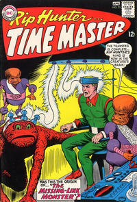 Cover Thumbnail for Rip Hunter ... Time Master (DC, 1961 series) #25