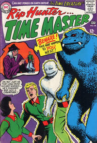 Cover Thumbnail for Rip Hunter ... Time Master (DC, 1961 series) #28