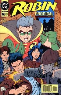 Cover for Robin (DC, 1993 series) #12