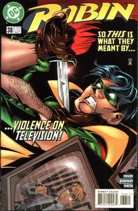 Cover Thumbnail for Robin (DC, 1993 series) #38 [Direct Sales]
