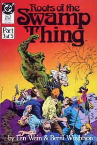 Cover Thumbnail for Roots of the Swamp Thing (DC, 1986 series) #3