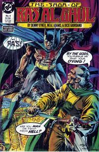 Cover Thumbnail for The Saga of Ra's Al Ghul (DC, 1988 series) #4