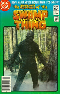 Cover Thumbnail for The Saga of Swamp Thing (DC, 1982 series) #2