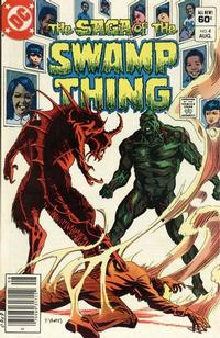 Cover Thumbnail for The Saga of Swamp Thing (DC, 1982 series) #4