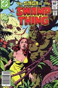 Cover Thumbnail for The Saga of Swamp Thing (DC, 1982 series) #8 [Newsstand]