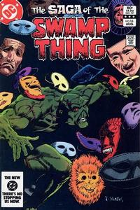 Cover Thumbnail for The Saga of Swamp Thing (DC, 1982 series) #16 [Direct-Sales]