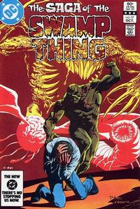 Cover Thumbnail for The Saga of Swamp Thing (DC, 1982 series) #17 [Direct]