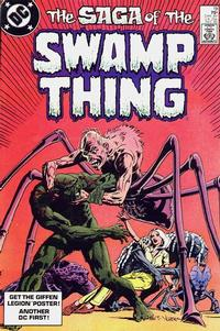 Cover Thumbnail for The Saga of Swamp Thing (DC, 1982 series) #19 [Direct]