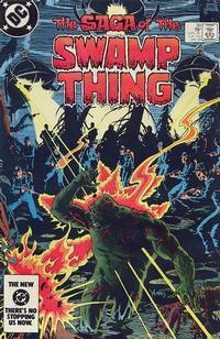 Cover Thumbnail for The Saga of Swamp Thing (DC, 1982 series) #20 [Direct]