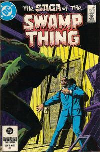 Cover Thumbnail for The Saga of Swamp Thing (DC, 1982 series) #21 [Direct-Sales]
