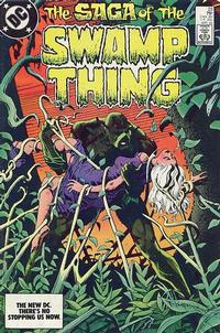 Cover Thumbnail for The Saga of Swamp Thing (DC, 1982 series) #23 [direct-sales]