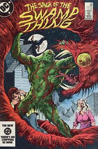 Cover Thumbnail for The Saga of Swamp Thing (DC, 1982 series) #26 [direct-sales]