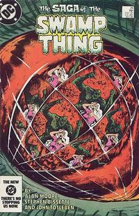 Cover Thumbnail for The Saga of Swamp Thing (DC, 1982 series) #29 [direct-sales]