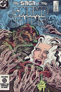 Cover Thumbnail for The Saga of Swamp Thing (DC, 1982 series) #30 [Direct]