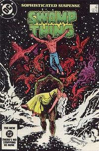 Cover Thumbnail for The Saga of Swamp Thing (DC, 1982 series) #31 [Direct Sales]