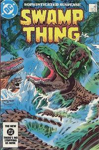 Cover Thumbnail for The Saga of Swamp Thing (DC, 1982 series) #32 [Direct]