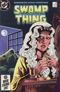 Cover Thumbnail for The Saga of Swamp Thing (DC, 1982 series) #33 [Direct]