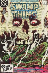 Cover Thumbnail for The Saga of Swamp Thing (DC, 1982 series) #35 [Direct]