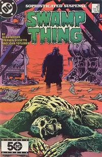 Cover Thumbnail for The Saga of Swamp Thing (DC, 1982 series) #36 [Direct]