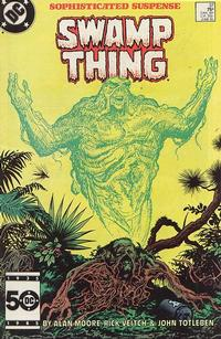 Cover Thumbnail for The Saga of Swamp Thing (DC, 1982 series) #37 [Direct]