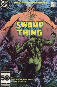Cover Thumbnail for The Saga of Swamp Thing (DC, 1982 series) #38 [Direct Sales]