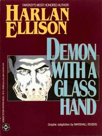 Cover Thumbnail for Science Fiction Graphic Novel (DC, 1985 series) #5 - Demon With a Glass Hand