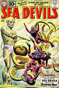 Cover Thumbnail for Sea Devils (DC, 1961 series) #1