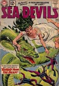 Cover Thumbnail for Sea Devils (DC, 1961 series) #3