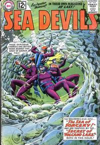 Cover Thumbnail for Sea Devils (DC, 1961 series) #4