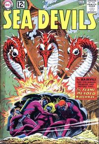 Cover Thumbnail for Sea Devils (DC, 1961 series) #6
