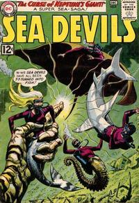 Cover Thumbnail for Sea Devils (DC, 1961 series) #8
