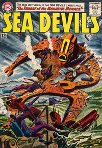 Cover Thumbnail for Sea Devils (DC, 1961 series) #12