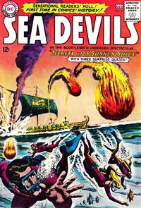 Cover Thumbnail for Sea Devils (DC, 1961 series) #13