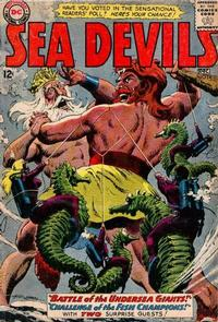 Cover Thumbnail for Sea Devils (DC, 1961 series) #14