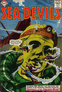 Cover Thumbnail for Sea Devils (DC, 1961 series) #16